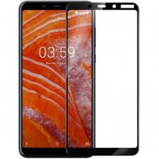 Стекло Nokia 3.1 Plus Black