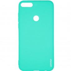 Силикон iNavi Color Huawei Honor 7X (Бирюзовый)