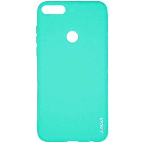 Силиконовый чехол iNavi Color Huawei Honor 7X (Бирюзовый)