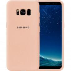 Силикон Original Case Samsung Galaxy S8 (Пудровый)