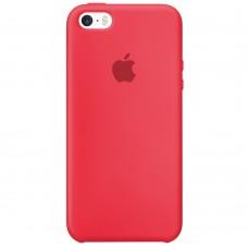 Силикон Original Case Apple iPhone 5 / 5S / SE (44) Red Raspberry