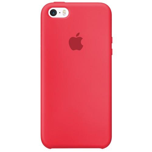 Силиконовый чехол Original Case Apple iPhone 5 / 5S / SE (44) Red Raspberry