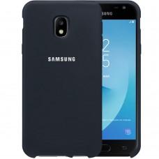 Силикон Original Case HQ Samsung Galaxy J3 (2017) J330 (Тёмно-серый)