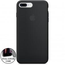 Силикон Original Round Case Apple iPhone 7 Plus / 8 Plus (07) Black