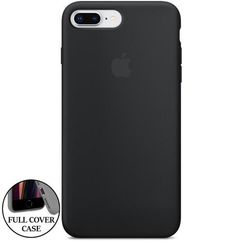 Силикон Original Round Case Apple iPhone 7 Plus / 8 Plus (07) Black