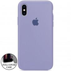 Силикон Original Round Case Apple iPhone XS Max (42)