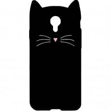 Силикон Kitty Case Meizu M5 Note (чёрный)