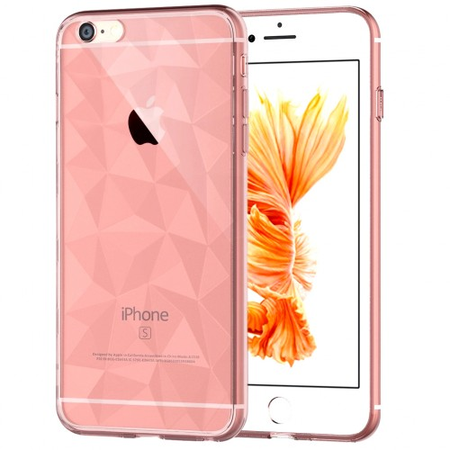 Силикон Prism Case Apple iPhone 6 / 6s (розовый)