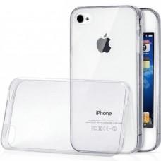 Силикон WS Apple iPhone 4 / 4s (прозрачный)