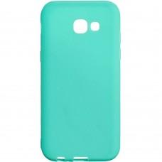 Силикон iNavi Color Samsung Galaxy A520 (2017) (Бирюзовый)