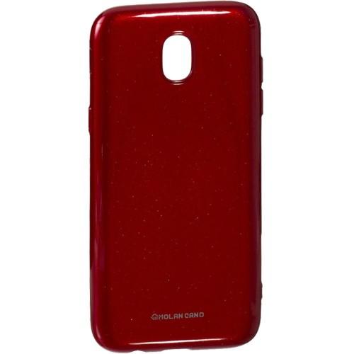 Силиконовый чехол Molan Shining Samsung J5 (2017) J530 Красный