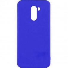 Силиконовый чехол Multicolor Xiaomi Pocophone F1 (темно-синий)