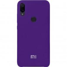 Силикон Original Case Xiaomi Mi Play (Фиолетовый)