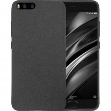 Силикон Textile Xiaomi Mi6 (Чёрный)