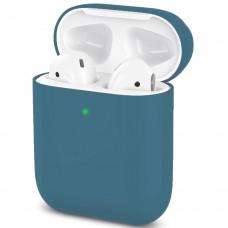 Чехол для наушников Apple AirPods 2 Slim (Midnight Blue)