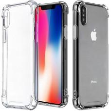 Силикон 3D Apple iPhone XS Max (Прозрачный)