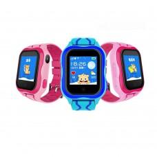 Детские смарт-часы Smart Baby Watch V12 / V5Y01 (Pink)
