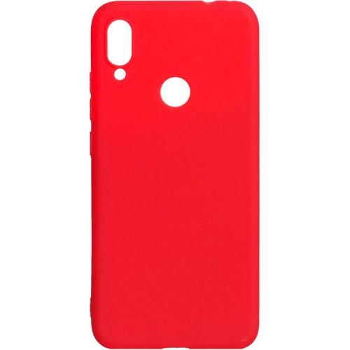 Силиконовый чехол iNavi Color Xiaomi Redmi Note 7 (красный)