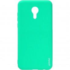 Силиконовый чехол iNavi Color Meizu M2 Mini (Бирюзовый)