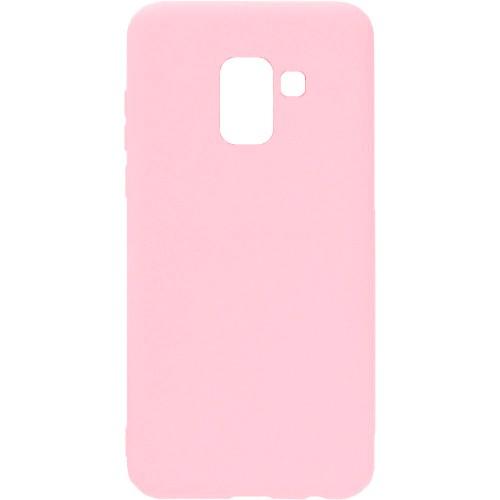 Силикон iNavi Color Samsung Galaxy A8 Plus (2018) A730 (персик)