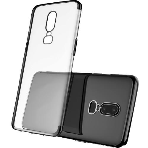 Силиконовый чехол UMKU Line OnePlus 6 (чёрный)