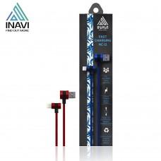 USB кабель Inavi NC-11 (lightning) (Красный)
