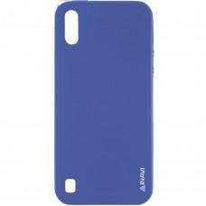 Силиконовый чехол iNavi Color Samsung Galaxy M10 (Тёмно-синий)