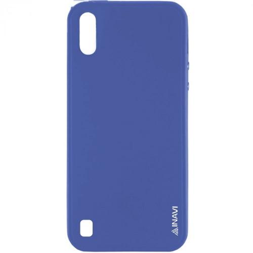 Силикон iNavi Color Samsung Galaxy M10 (Тёмно-синий)