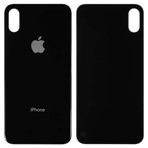 Задняя крышка корпуса Apple iPhone X (Black)