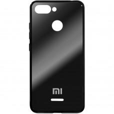 Накладка Glass Case Xiaomi Redmi 6 (черный)