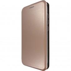 Чехол-книжка Оригинал Samsung J1 (2016) J120 (Розовое-золото)