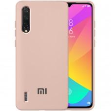 Силикон Original Case Xiaomi Mi9 Lite / Mi CC9 (Пудровый)