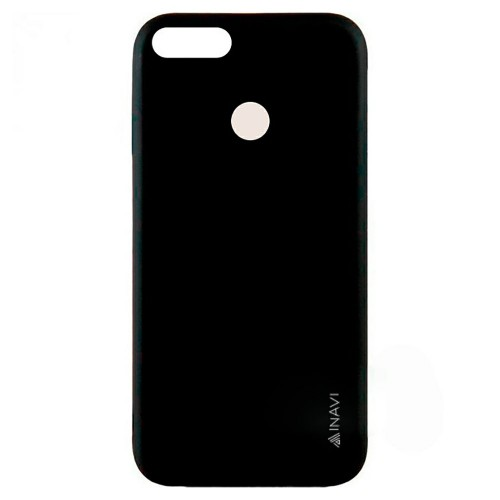 Силикон iNavi Color Apple iPhone 7 Plus / 8 Plus (черный)
