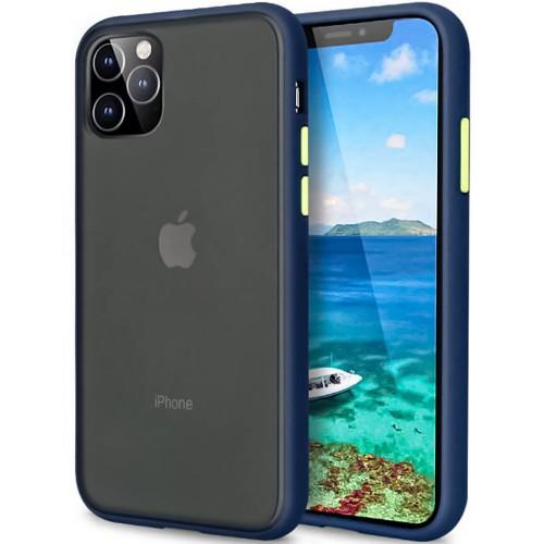 Накладка Totu Gingle Series Apple iPhone 11 Pro Max (Тёмно-синий)