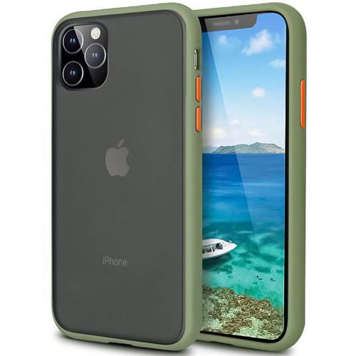 Накладка Totu Gingle Series Apple iPhone 11 Pro Max (Тёмно-зелёный)