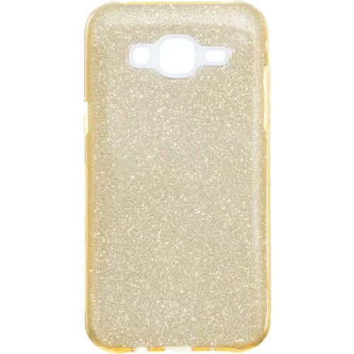 Силикон Glitter Samsung Galaxy J2 (2016) J200 (золотой)