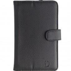 Чехол-книжка Universal Leather Pad 7 (Чёрный)