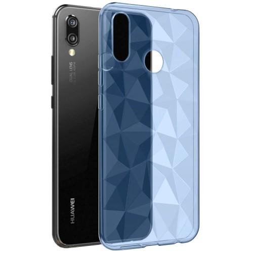 Силиконовый чехол Prism Case Huawei P Smart Plus / Nova 3i (синий)