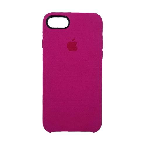 Чехол Alcantara Cover Apple iPhone 7 / 8 (Малиновый)