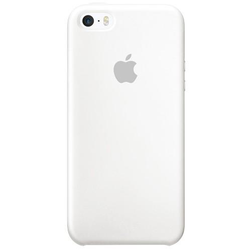 Силиконовый чехол Original Case Apple iPhone 5 / 5S / SE (06) White