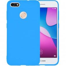 Силиконовый чехол iNavi Color Huawei Nova Lite (2017) (голубой)