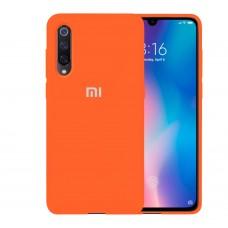 Силикон Original Case Xiaomi Mi9 (Оранжевый)