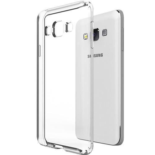 Силиконовый чехол WS Samsung Galaxy A7 (2015) A700 (Прозрачный)