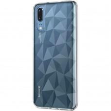 Силикон Prism Case Huawei P20 (Прозрачный)
