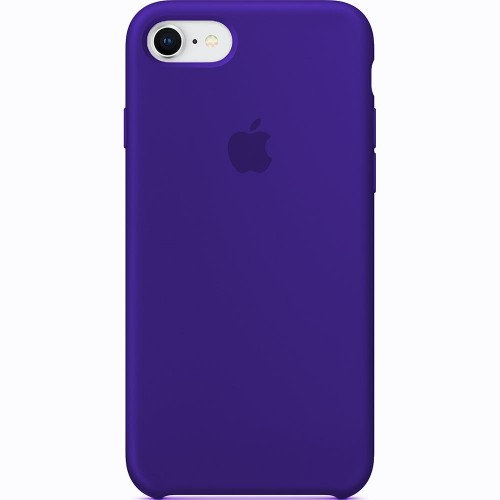 Чехол Silicone Case Apple iPhone 7 / 8 (Ultra Violet)