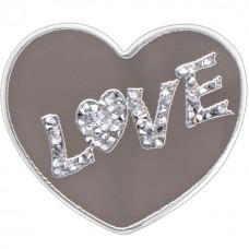 Холдер Popsocket Glass (Love, 01)