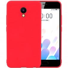 Силикон iNavi Color Meizu M5C (Красный)