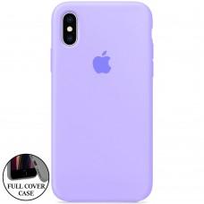 Силикон Original Round Case Apple iPhone X / XS (43) Glycine