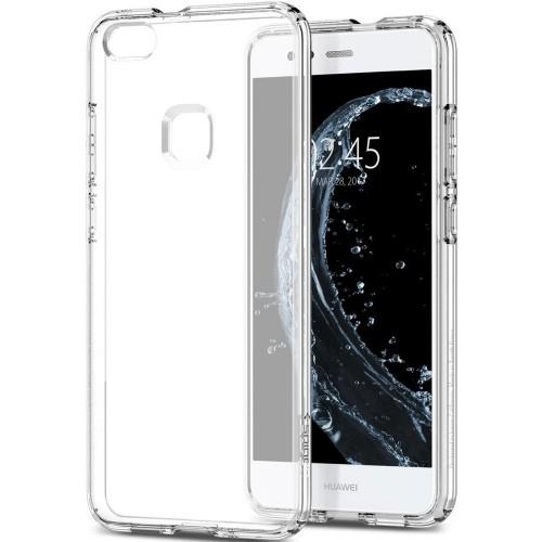 Силиконовый чехол WS Huawei P10 Lite (2017) (Белый матовый)