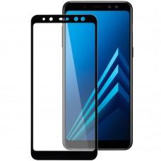 Стекло 3D Samsung Galaxy A8 (2018) A530 Black